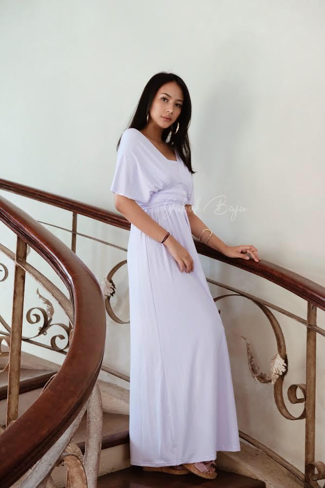 Infinity Dress - White