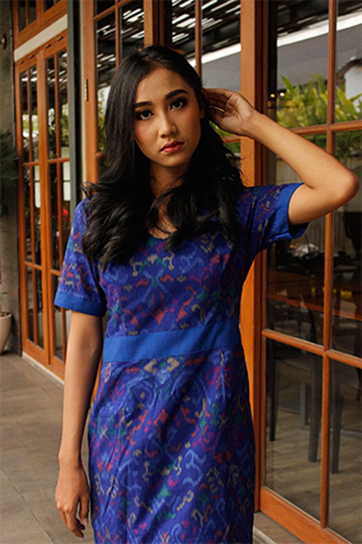 Dress Modif - Blue